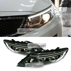 Oem Parts Front Led Complete Head Light Lamp Lh Rh Assy For Kia 11-15 Optima K5