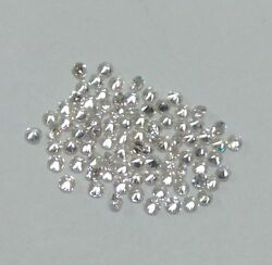 0.75mm to 3mm CALIBRATED SIZE NATURAL WHITE DIAMOND ROUND IJ COLOR VS QUALITY