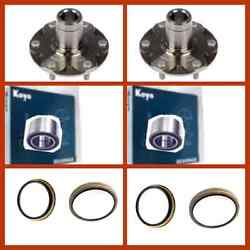 2 Koyo/genuine Bearing For Toyota 4runner Sequoia Tundra 4wd Only Kit 8 Pieces