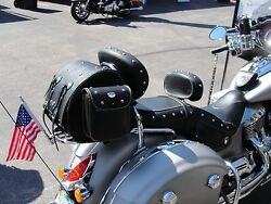 Rear Trunk Bag To Fit Luggage Racks On Indian Chief, 2014-present