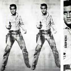 37wx43h Elvis 1963 By Andy Warhol - Presley King Rock And Roll Choices Of Canvas