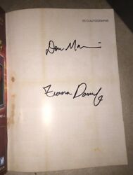 Fiona Dourif And Don Mancini Signed Frightfest Magazine August 2013 Chucky