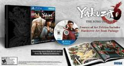 Yakuza 6 The Song Of Life Essence Of Art Edition New Sealed Playstation 4 Ps4