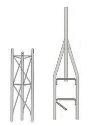 ROHN 25SS010 25G Series 10' Self Supporting Tower Kit