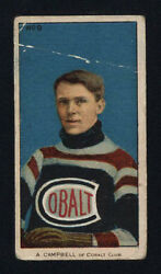 1910-11 C56 Imperial Tobacco 9 Angus Campbell Rookie Card Hall Of Fame