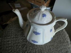 Adderly Blue Chelsea 5 1/2 Inch Tea Pot 1 Available