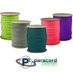 Paracord 1000 Ft Spool Outdoor Rope Parachute Cord Tie Down Mil Spec 7 Strand