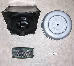 1960s Vintage Sachs 100/125mx Airbox Assembly W/top Cover And Element Ex Smx11