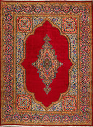 9and039 0 X 12and039 2 Kerman Wool Authentic Hand Knotted Persian Rug
