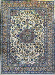 8' 2 X 11' 1 Kashmar, Wool, Authentic Hand Knotted Persian Rug