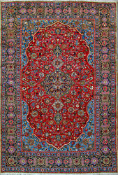 7and039 10 X 11and039 6 Esfahan Wool Authentic Hand Knotted Persian Rug