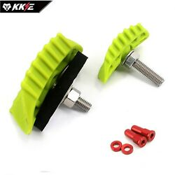 New Dirt Bike Nylon Rim Lock Sets 1.6 And 2.15 Width With Alu Cover And Washer Red