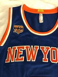 2016 70th Year Authentic Carmelo Anthony Adidas Knicks Pro Cut Jersey Size Xl 48