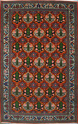 6and039 9 X 10and039 2 Bakhtiari Wool Authentic Hand Knotted Persian Rug