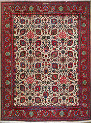 9and039 7 X 12and039 11 Tabriz Wool Authentic Hand Knotted Persian Rug