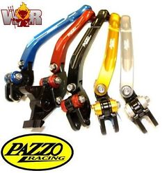 Bmw R800gs 700gs 2008-17 Pazzo Racing Folding Lever Set Any Color And Length Combo