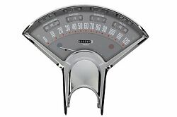 Classic Instruments 55 56 Chevy Bel Era Iii Package Gauge Panel Gray With Shift