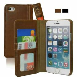 Case Cover For iPhone 6 Plus  6s Plus Leather Vintage Wallet Book Style Khomo
