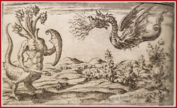 Delle allusioni Allegory of the dragon 1588 occult alchemy symbol mythology