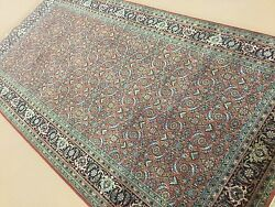 5and039.1 X 9and039.11 Rust Super Herati Oriental Rug Wide Runner Hand Knotted