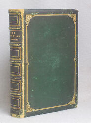 Antique Leather Bound The White Hills Legends Landscape Poetry Thomas Starr King