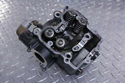 01 ARCTIC CAT 500 4X4 ATV CYLINDER HEAD W VALVES SPRINGS ASSEMBLY ENGINE