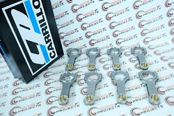 Carrillo Connecting Rods Pro-h 7/16 Bolt For 11-12 Gm Duramax 6.6l Lml Set Of 8