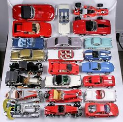 Lot Of 23 Classic Collectible Model Cars W/ Some Paperwork Franklin Danbury