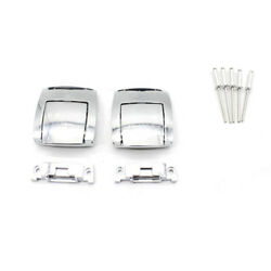 1 Pair Rear Trunk Tour Pak Premium Latches For Harley CVO Road Glide FL 2009