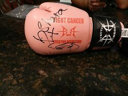 Authentic Signed Boxing Glove-ozzy And Sharon Osbourne