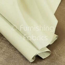 Brand New Quality Ivory Colour Blackout 3 Pass Curtain Lining Fabric 54 Inch