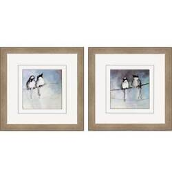 Paragon Animals Contemporary Mary's Birds Pack of 2 Wall Art 4943