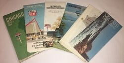 Maps Old Vintage 1970and039s Ne N. America Cape Cod Me Nh Ny Il Quebec Maritime Prov