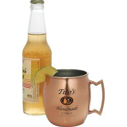 Qty 100 Moscow Mule Mug 16oz Imprint Included Wedding Favors Family Reunion