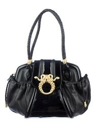 Judith Leiber Rachel Zoe Design Medusa Shoulder Bag