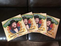 100 Factory Sealed 1981 Waylon Jennings Country Music Vinyls- Time Life Records