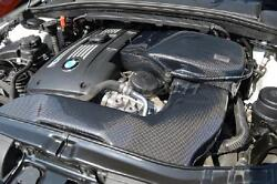Carbon Fiber Kit Fit For 10-12 Bmw 1m Coupeand135i Grupper M Style Air Intake Kit