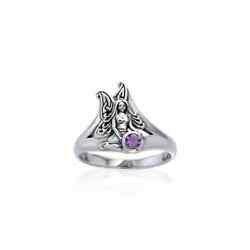 Fairy Sterling .925 Sterling Silver Ring Choice Of Gem Peter Stone Fine Jewelry