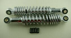 Shock Absorber Adjustable Moped Chrome Cyclo Scooter Motorcycle Suspensions New