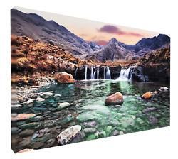 Fairy Pools, Isle Of Skye. Framed, Mounted, Canvas Print Or Photo Quality Poster