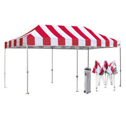 EZ Pop Up Canopy 10X20 Commercial Outdoor Gazebo Party Beach Tent wWheeled Bag