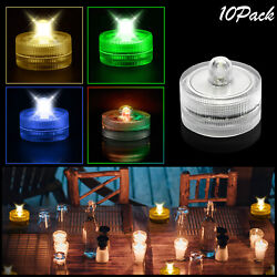 Flameless LED Tea Light Candle with Battery Flickering Wedding Home Party Decor