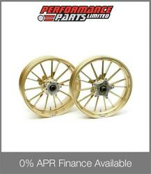 Gold Galespeed Type S Wheels Yamaha Yzf R1 2015-2017 0 Finance Available