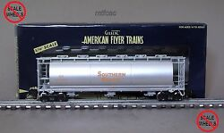 American Flyer High Rail 6-48643 Southern Pacific Cylindrical Hopper Car