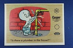 1960 Fleer Casper - 51 Is There A Plumber In The House Excellent Condition
