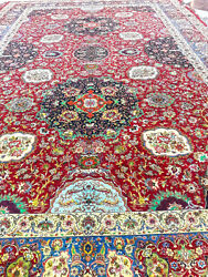 One of a kind Chelsea design Persian Rug 17x26 feet Red Vegetable dye