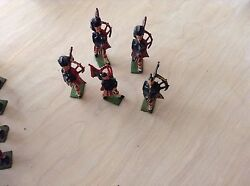 Unboxed Antique Britains -1950's. Black Watch And Others. Priice Includes All