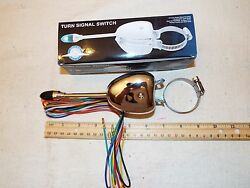 Vintage Ford Steering Column Mounted Turn Signal Switch Lighted Lever 6v And 12v