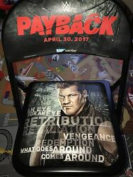 Wwe Payback Official Ringside Chair Rare Souvenir New Aew Star Chris Jericho