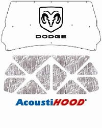 1994 2002 Dodge Truck Under Hood Cover With M-020 Dodge Ram